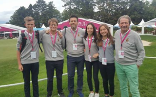 The Evian Masters Juniors : 19-20/09